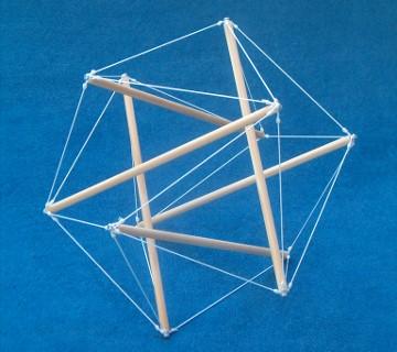 Tensegrity Icosahedron Biotensegrity
