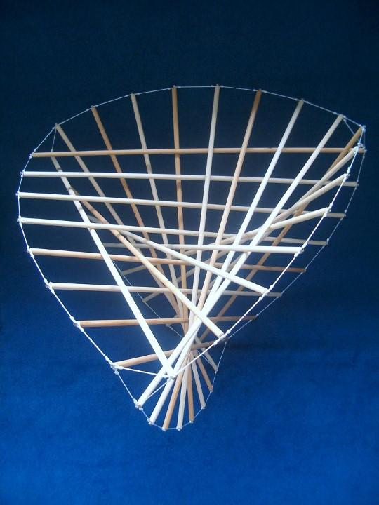 Butterfly chair original - Butterfly Tensegrity