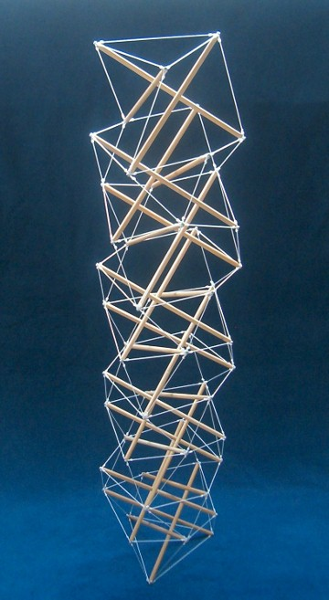Tensegrity Balls And Tensegrity Towers Conventional Tensegrities